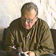 Le grand poète lituanien polonais Czeslaw Milosz, prix Nobel de Littérature